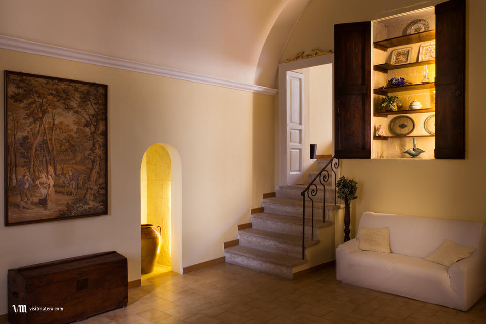 B&B La casa di Ele (Bed and Breakfast Matera): ambiente interno
