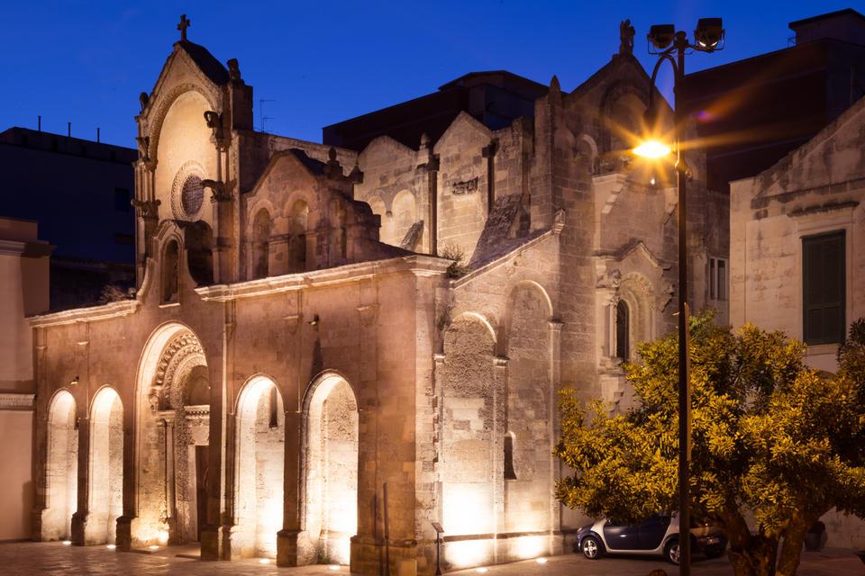 San Giovanni Battista (Chiesa Matera): esterno