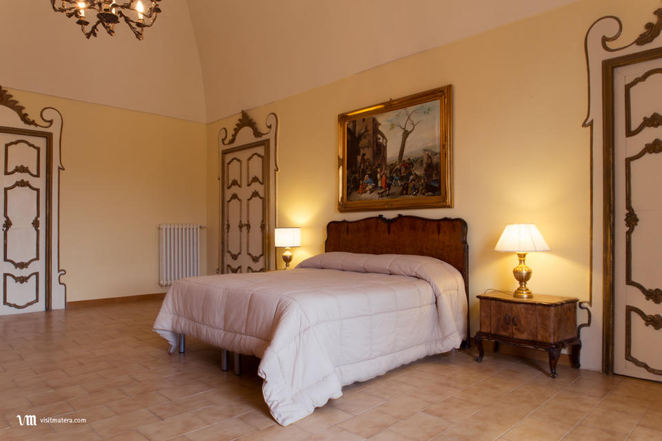 B&B La casa di Ele (Bed and Breakfast Matera): Luxury Bach suite