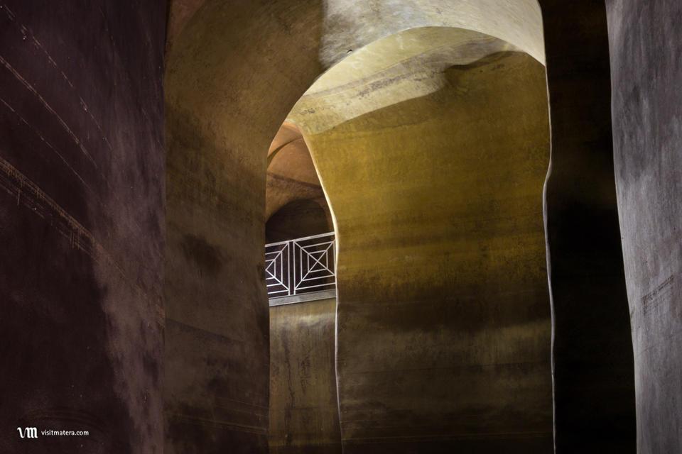Palombaro Lungo (Raccolta dell'acqua Matera): arcate interne